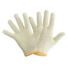 Перчатки хлопчатобумажных белые 10класс 4 нитки