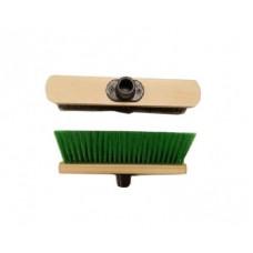 Щетка для уборки деревянная бытовая 275х50x65мм, мягкий ворс